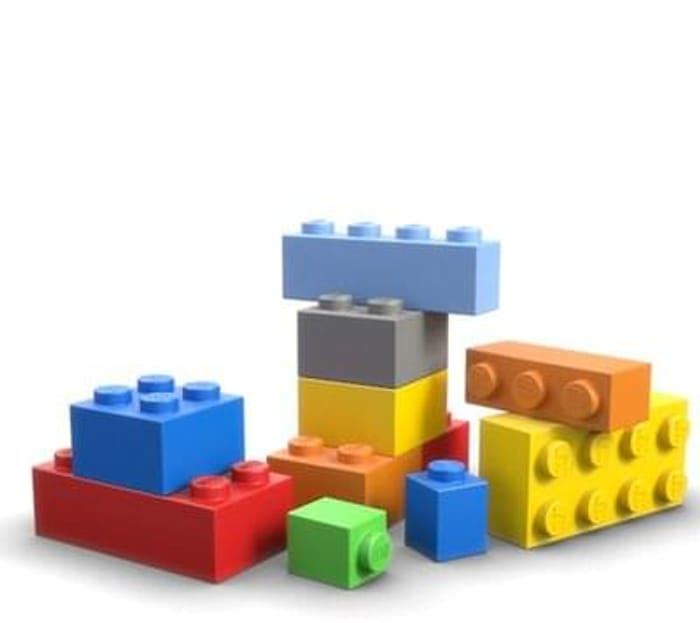 Free Lego for kids taking part in the Lego Mini Build workshops