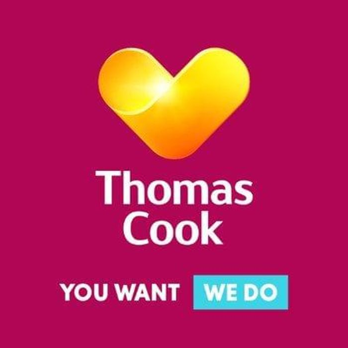 £100 Off selected Thomas Cook holiday packages over £800