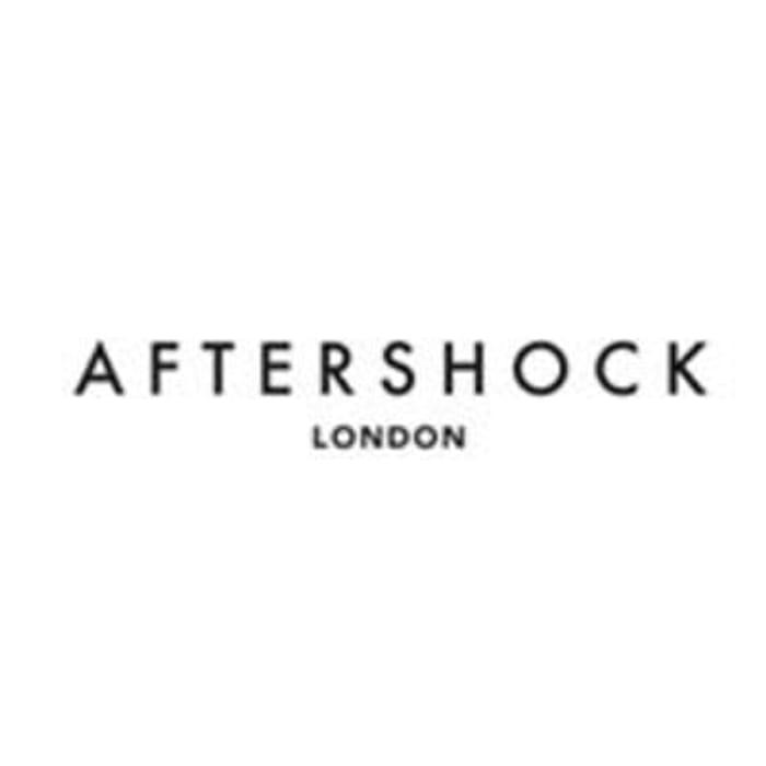Aftershock London Voucher 15% off orders