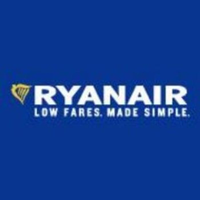 Ryanair 20% Off Flights (September - December)