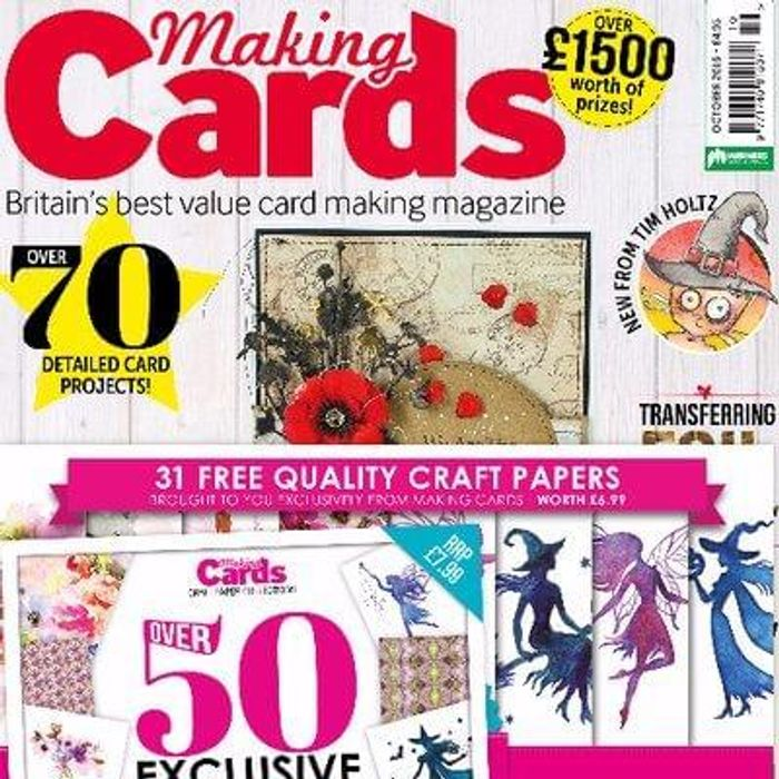 Free copy of Making Cards Magazine
