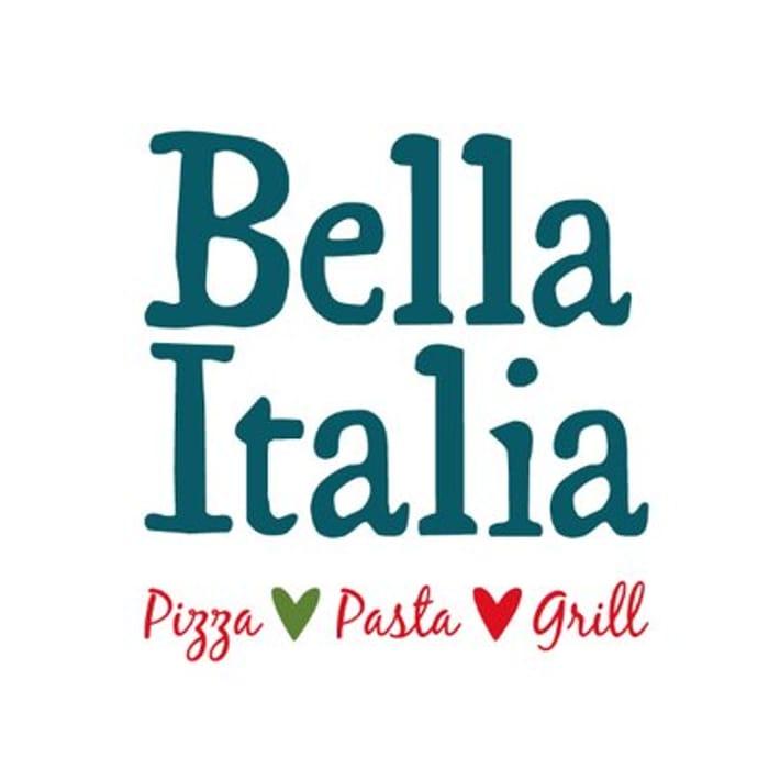 Half price collected takeaway food at Bella Italia