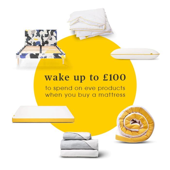 £50 off Orders over £200 at eveSleep
