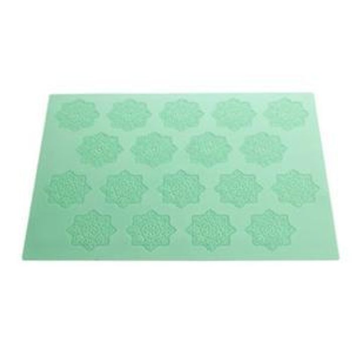 Lace look Silicone Icing Mould