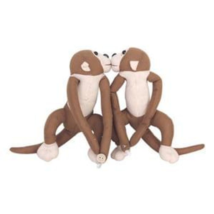 Monkey Curtain Tie with FREE delivery
