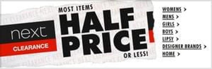 Next Clearance Sale