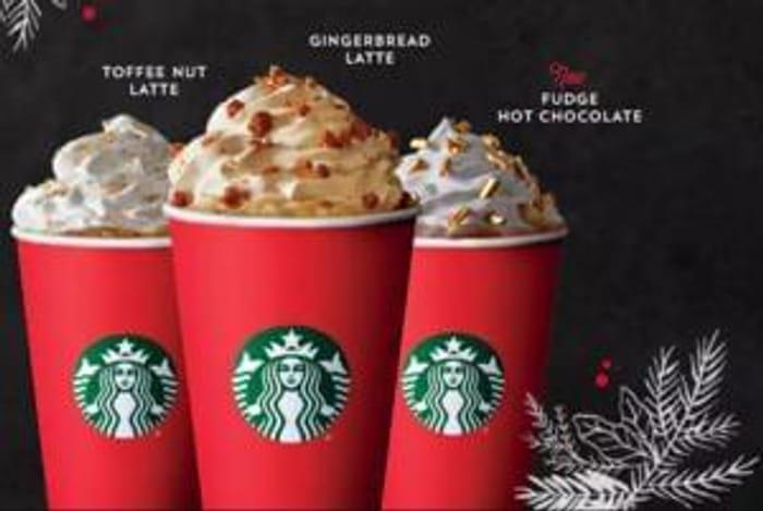 Christmas Starbucks Drinks.2 For 1 Christmas Drinks At Starbucks Starts 10th Nov