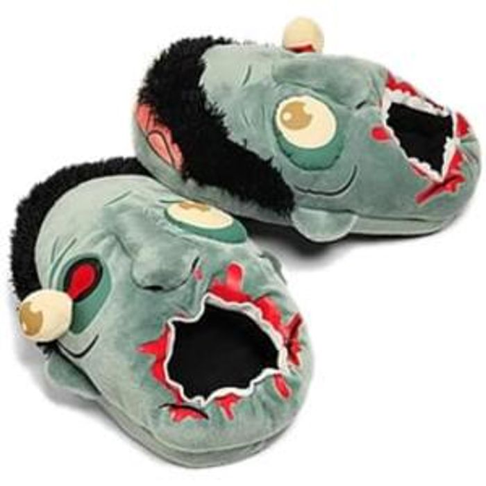 Zombie Plush Slippers £8 Delivered