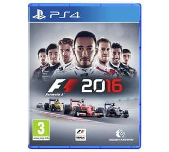 F1 2016 Black Friday best deal price (PS4)