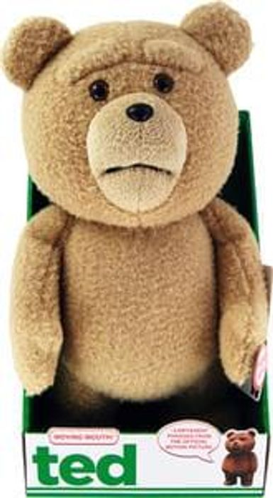 TED - 16 Inch Plush with Sounds and Moving Mouth Only £7 Delivered