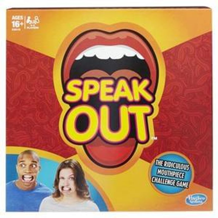 Speak Out Board Game £12.50 C&C or £15.50 Delivered