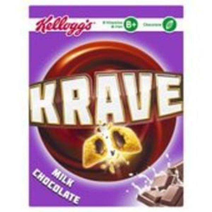 Morrisons Kellogg's Krave Milk Chocolate (375g) was £2.81 now £1.43