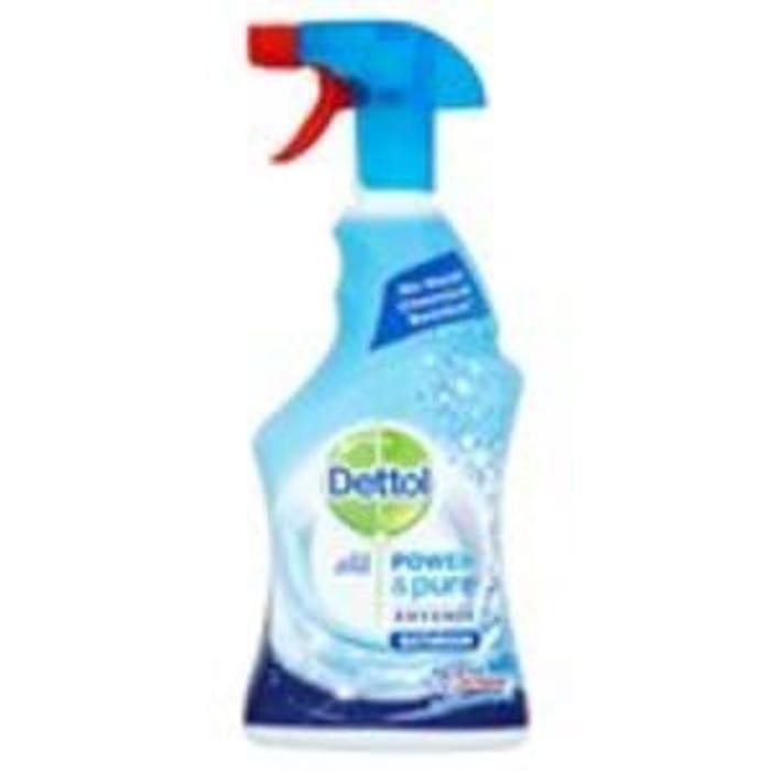 Dettol Power & Pure Bathroom Cleaner Spray 750ml