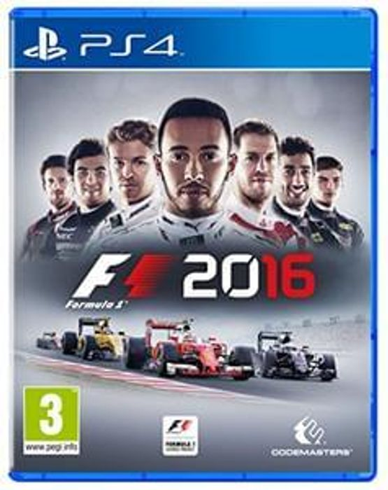 Buy F1 2016, PS4 for £32.99 at Amazon