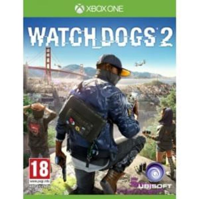 PRICE DROP Watch Dogs 2 Xbox One NOW £24.99 & Free Delivery