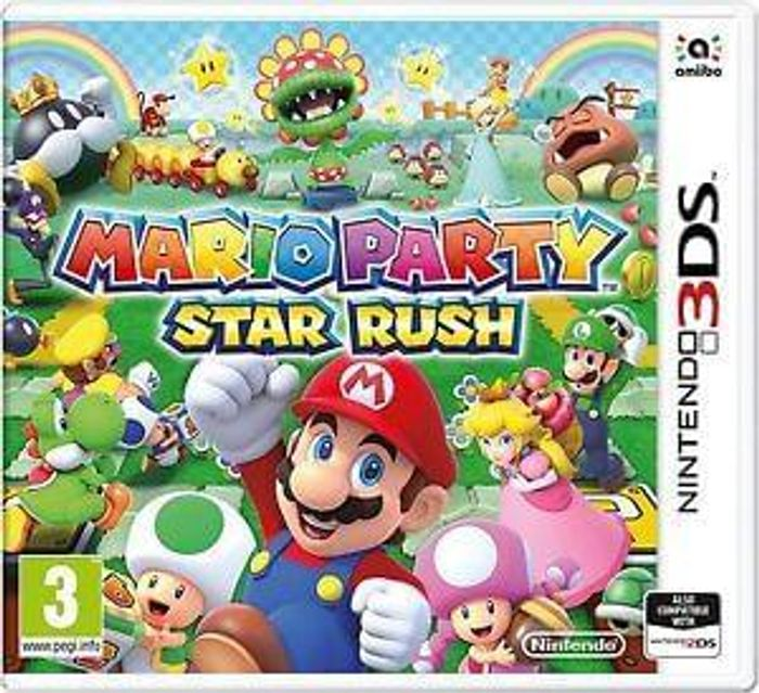 Mario Party: Star Rush (3DS) New & Sealed Free UK Delivery
