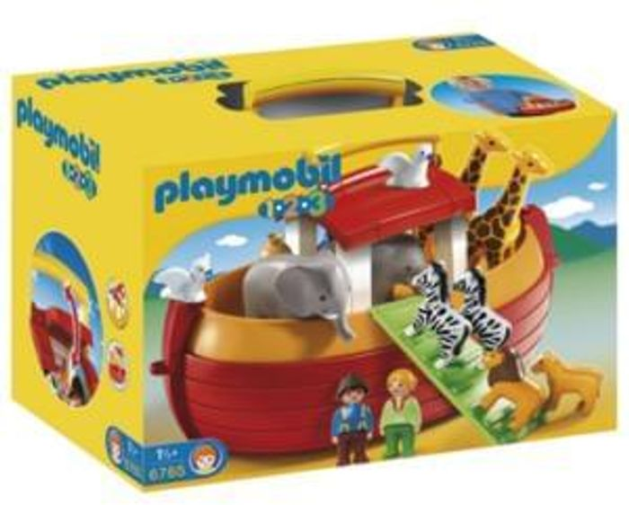 Wow! Don't miss this! HALF PRICE! Playmobil 123 Noah's Ark Playset. BARGAIN!