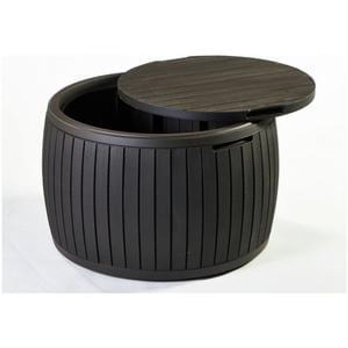Keter Circular Plastic Garden Storage Table Save 21 23 99 At