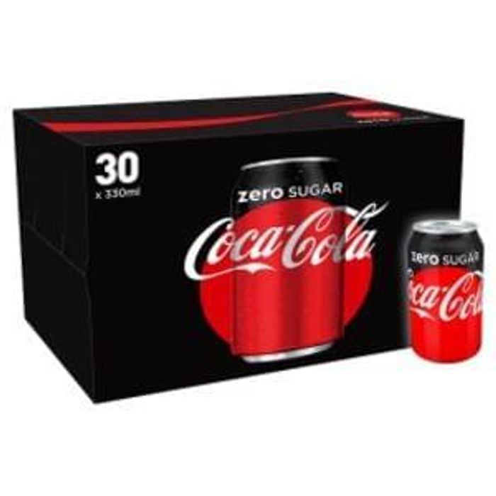 30 X Coke Zero at ASDA