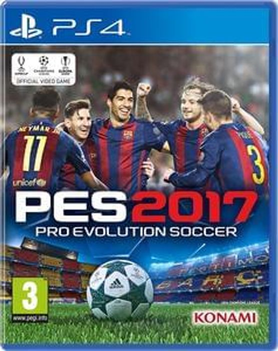 Buy Pro Evolution Soccer PES 2017 (PS4) at the Cheapest Price £24.99 at Amazon