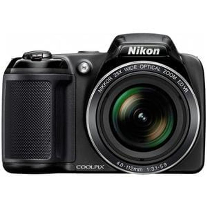 Nikon Coolpix L340 20MP 28x Zoom Bridge Camera Save £30 Free C+C