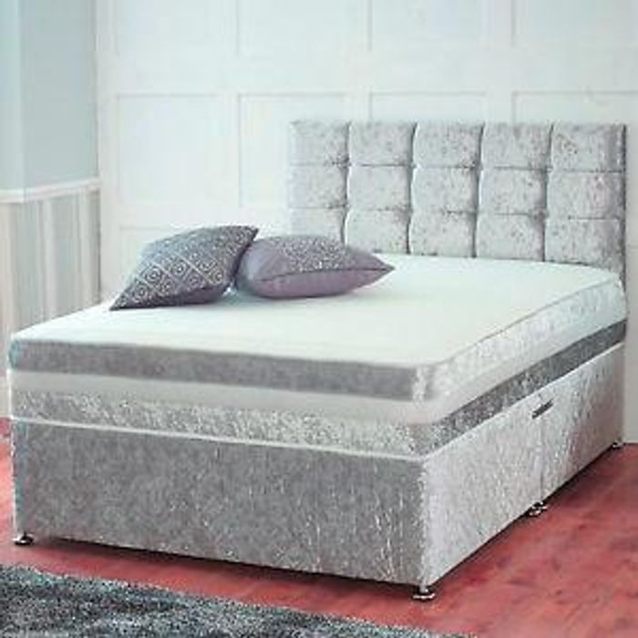 DIVAN BED WITH STORAGE + ORTHOPEDIC MATTRESS + Free Delivery