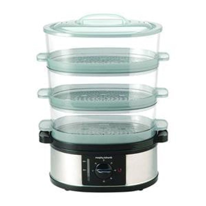 SAVE £10. Morphy Richards 48755 3 Tier Food Steamer. AMAZON DEAL