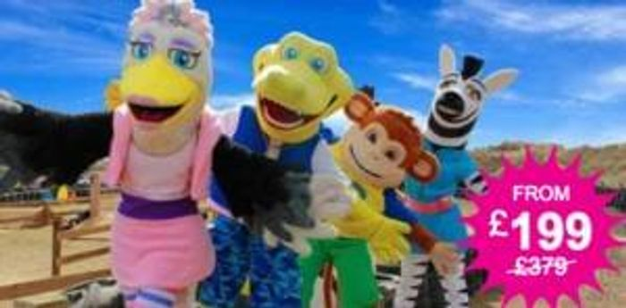 7nt Pontins Family Break for 4 - Summer Holiday dates!