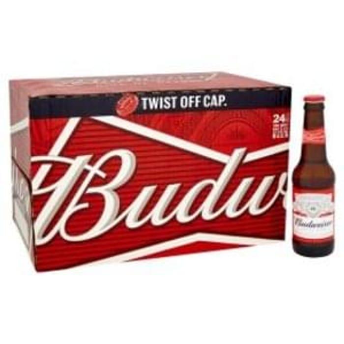 Budweiser Lager £11 for 24