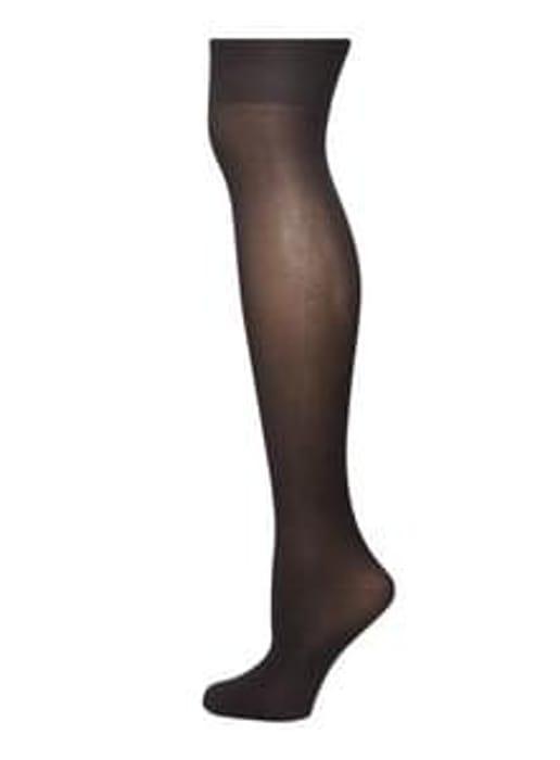 Black Opaque Knee High Socks