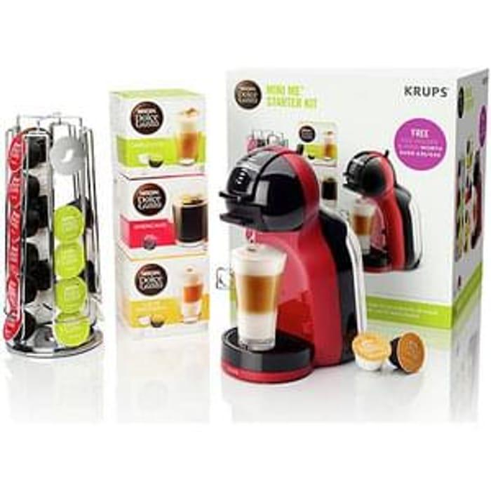 Nescafe Dolce Gusto Mini Me Starter Kit Half Price Free
