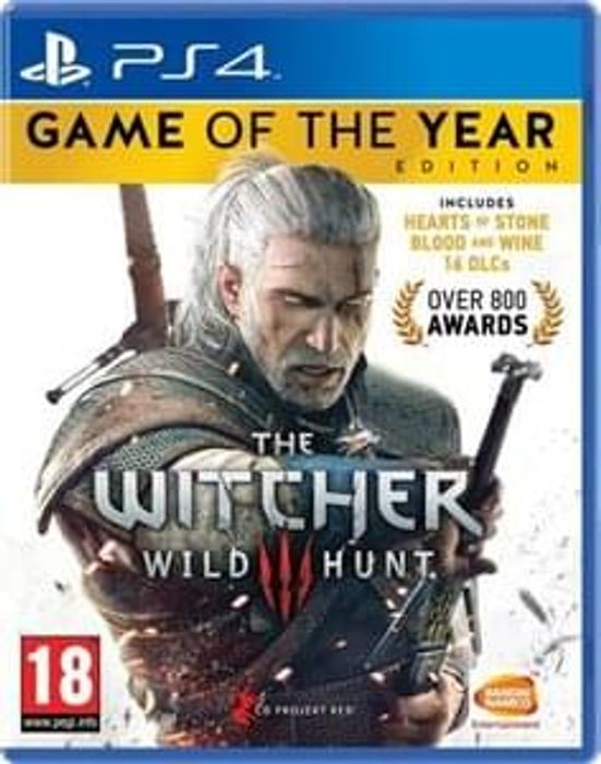 The Witcher 3: Wild Hunt - Game of the Year Edition PS4