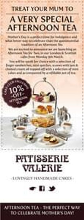 Join The Patisserie Valerie Cake Club And Receive Exclusive Promotional Offers