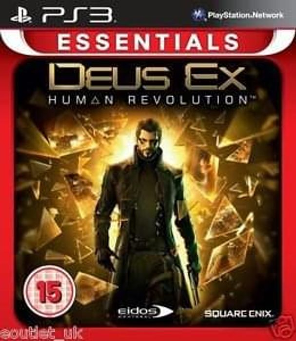Deus Ex Human Revolution (PS3) - New