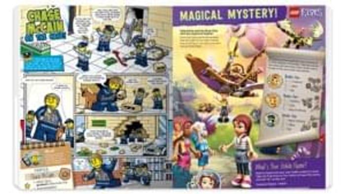 Free Kids Lego Magazine 5 times a year