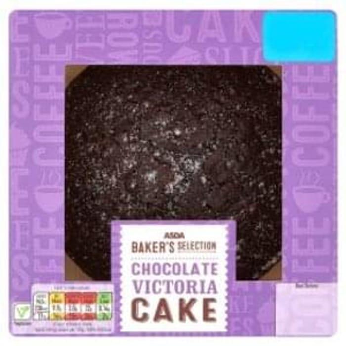 Bakers Chocolate Victoria Sponge Cake 1 Asda Latestdeals