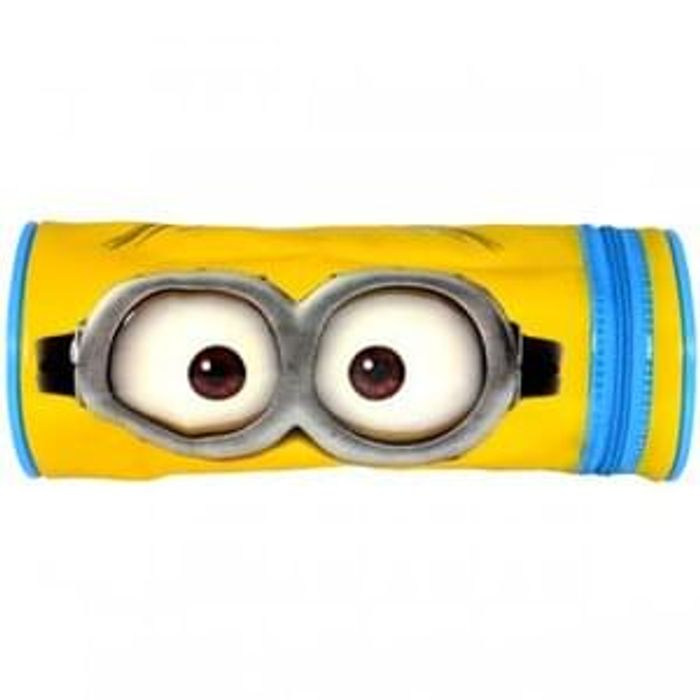Minions 2 Barrel Pencil Case Save £2.99 Free Delivery