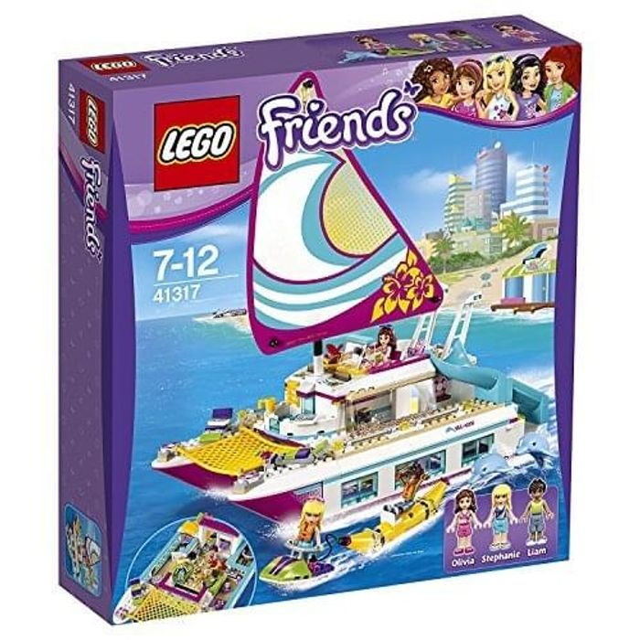 Price Drop! SAVE £27 + FREE DELIVERY! LEGO Friends Sunshine Catamaran at Amazon