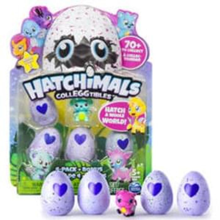 Hatchimals Colleggtibles 4 Pack with BONUS. **4.5 STARS** Watch the Video!