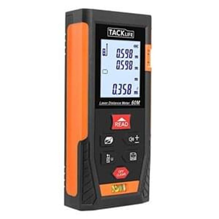 Tacklife HD60 Classic Digital Laser Distance Meter (Lightning Deal)