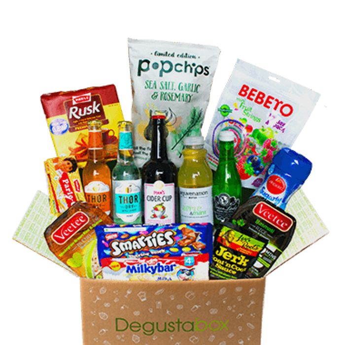 £20 worth of Food for £7.99 with Degustabox!
