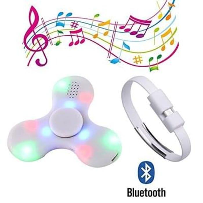 Bluetooth fidget spinner!!