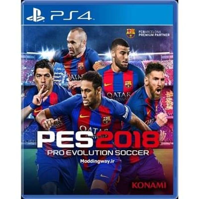 Cheapest Price Pro Evolution Soccer 2018 PS4? Pre-order for September. SAVE £14.