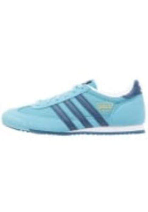 adidas Originals DRAGON - Trainers - vapour blue/tech steel/white Kids