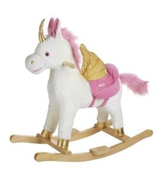 Personalised Rocking Unicorn