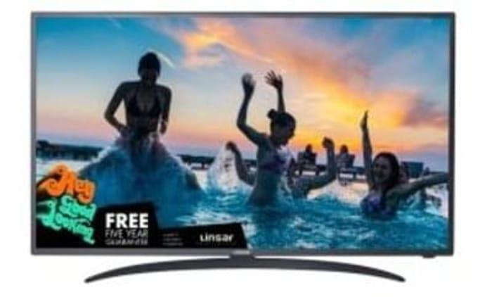 "Linsar 55"" 55UHD110 UHD 4K Smart TV Save £50 Free Delivery"