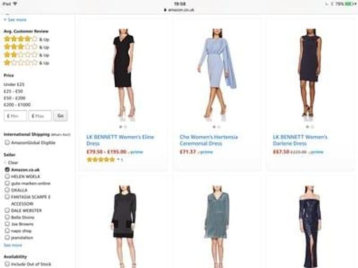 Fashion (dresses)