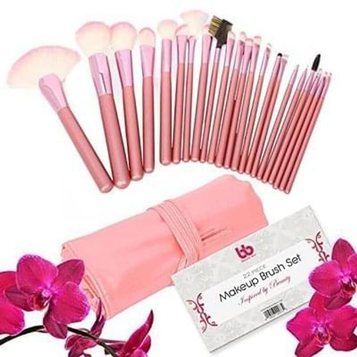 Beauty Bon Professional Makeup Brushes, 22 Piece Set