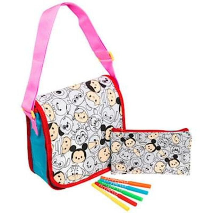 Disney Tsum Tsum Colour Your Own Bag Set Less Than Half Price