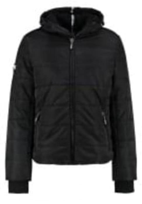 Superdry POLAR SPORTS - Winter jacket - black/cobalt
